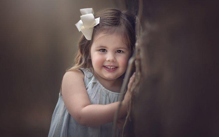 улыбка, взгляд, дети, девочка, волосы, лицо, ребенок, smile, look, children, girl, hair, face, child