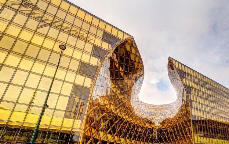 архитектура, здание, швеция, торговый центр, мальмё, architecture, the building, sweden, shopping center, malmo