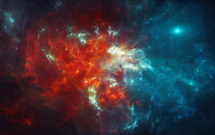 color, stars, nebula, matter