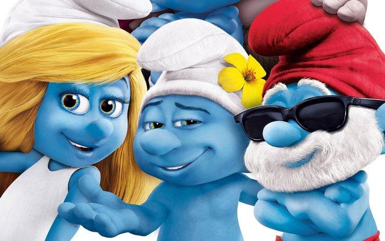 семья, гномы, персонажи, смурфики, смурфики 2, smurfs 2, family, dwarves, characters, the smurfs, the smurfs 2