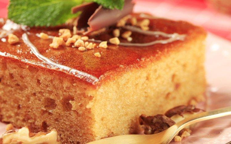 торт, кусок, сироп, cake, piece, syrup