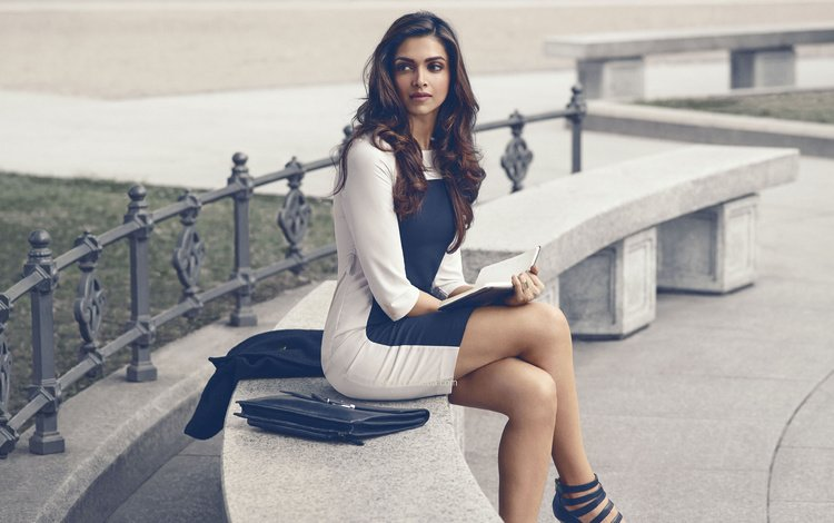 style, girl, dress, book, photoshoot, celebrity, bollywood, deepika padukone