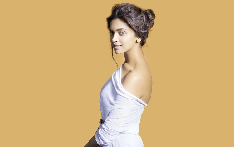 девушка, взгляд, волосы, лицо, актриса, дипика падуконе, girl, look, hair, face, actress, deepika padukone
