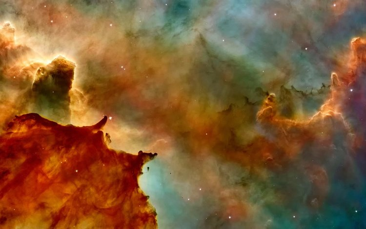 космос, звезды, туманность, space, stars, nebula