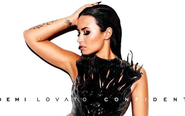 модель, актриса, певица, макияж, закрытые глаза, деми ловато, model, actress, singer, makeup, closed eyes, demi lovato