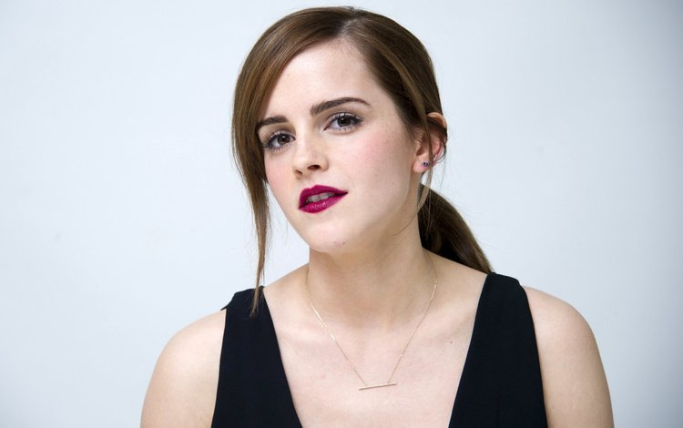 girl, look, model, face, actress, makeup, emma watson