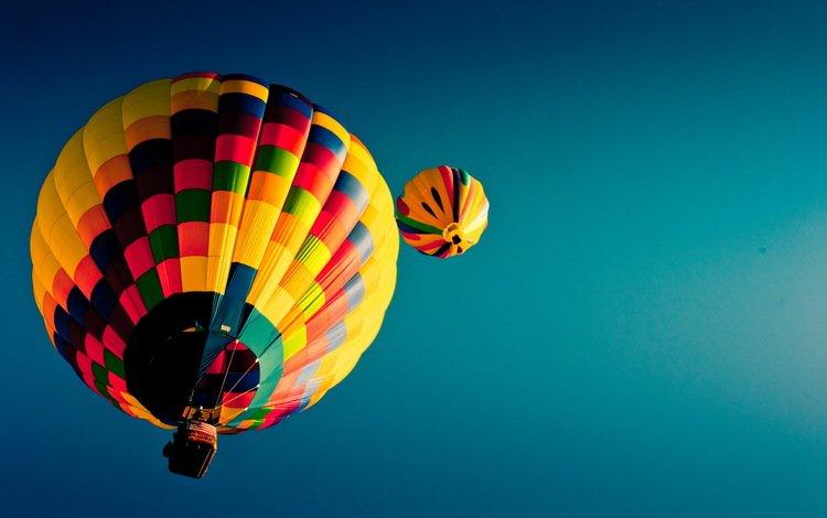 the sky, balloon, air balloons