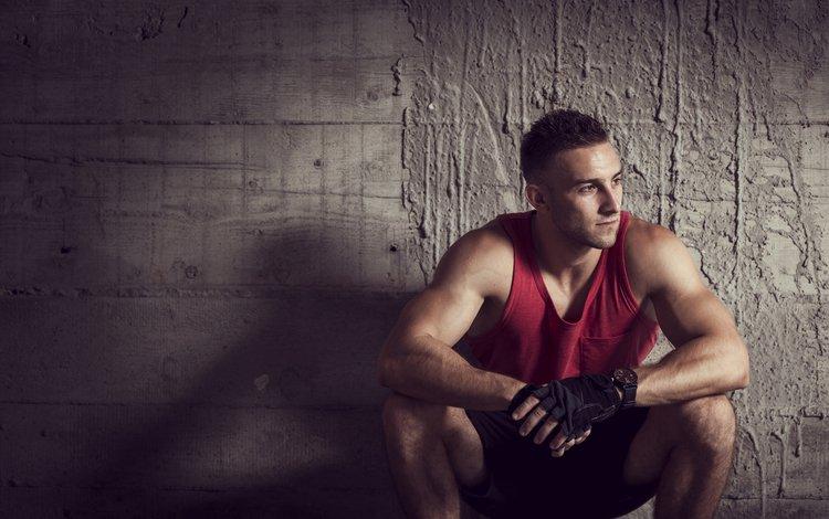 парень, стена, мужчина, спортсмен, guy, wall, male, athlete