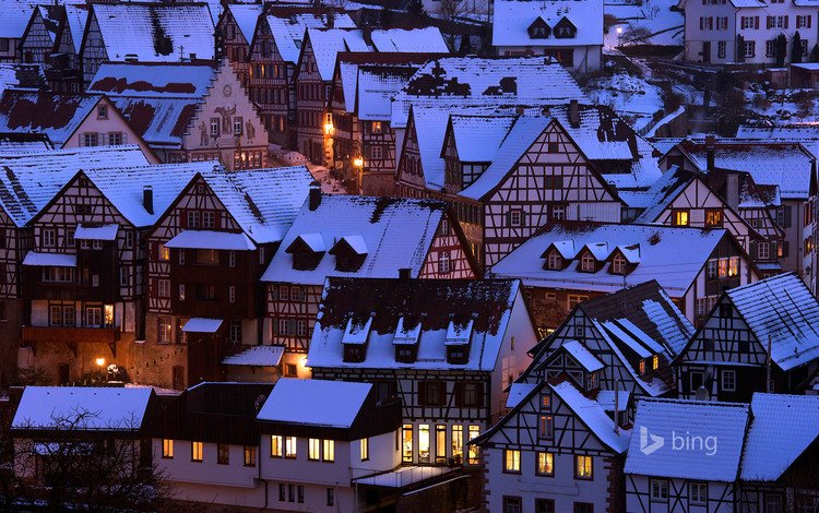 the city, germany, schiltach