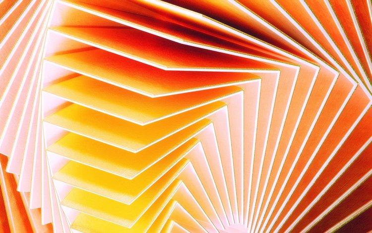металл, абстракция, волны, цвет, форма, листы, изгиб, metal, abstraction, wave, color, form, leaves, bending
