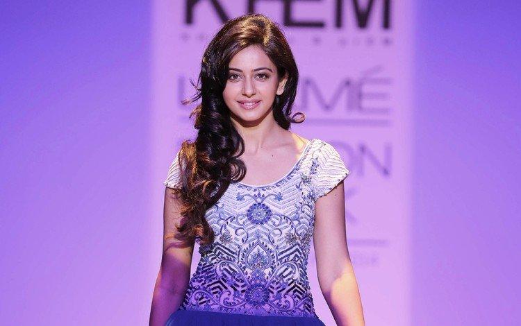 девушка, взгляд, волосы, лицо, актриса, индийская, rakul preet singh, ракул прит сингх, girl, look, hair, face, actress, indian