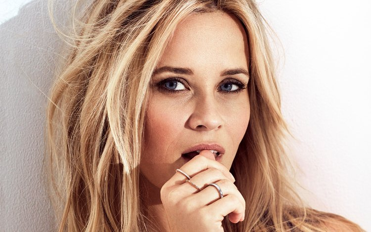 girl, portrait, look, hair, face, actress, reese witherspoon