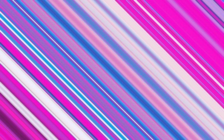 strip, line, blue, color, pink