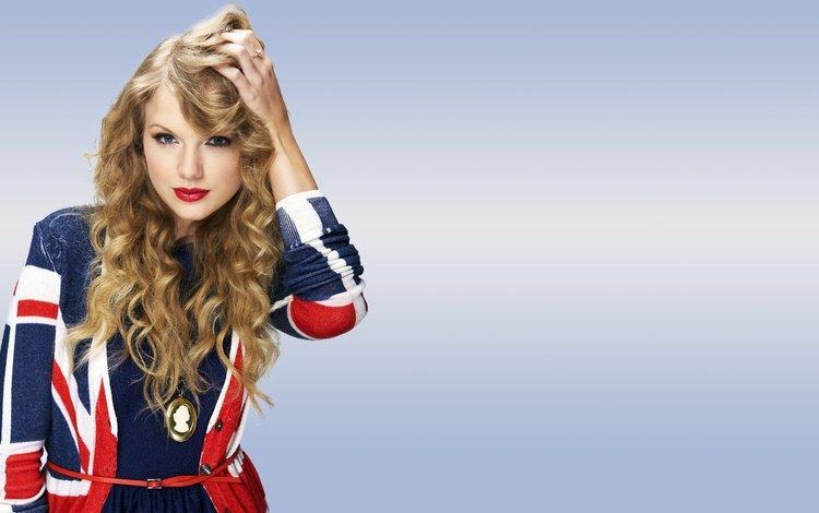 стиль, девушка, блондинка, кудри, губы, певица, макияж, тейлор свифт, style, girl, blonde, curls, lips, singer, makeup, taylor swift