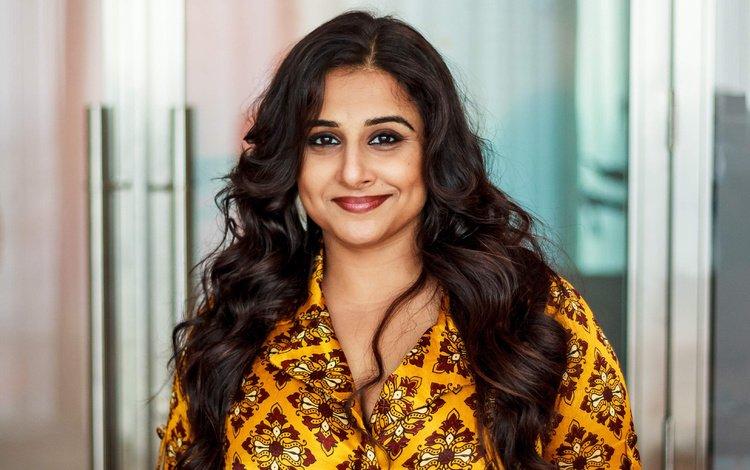 girl, smile, look, hair, face, actress, indian, vidya balan