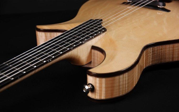фон, гитара, музыка, черный фон, музыкальный инструмент, background, guitar, music, black background, musical instrument