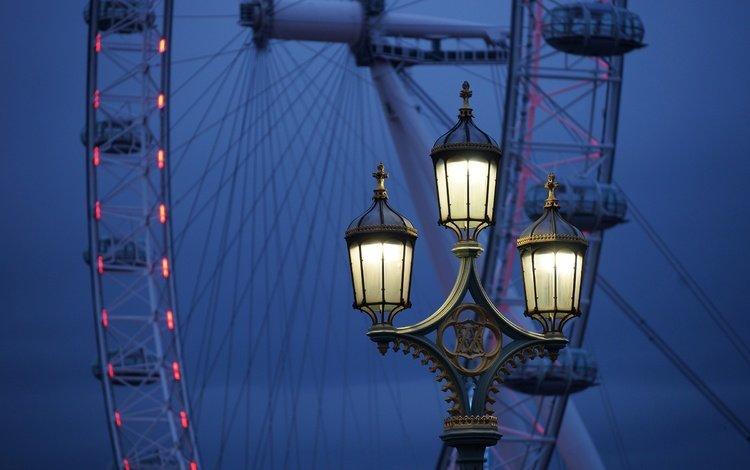 лондон, колесо обозрения, англия, фонарь, лондонский глаз, london, ferris wheel, england, lantern, the london eye