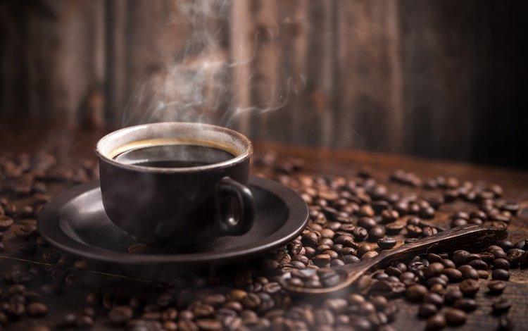 напиток, боке, зерна, кофе, стол, блюдце, чашка, пар, ложка, drink, bokeh, grain, coffee, table, saucer, cup, couples, spoon