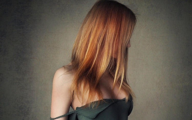 girl, model, hair, neckline, sasha, sean archer, bare shoulder