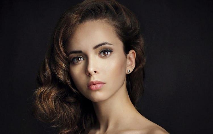 girl, portrait, look, model, lips, face, actress, sean archer, valeria