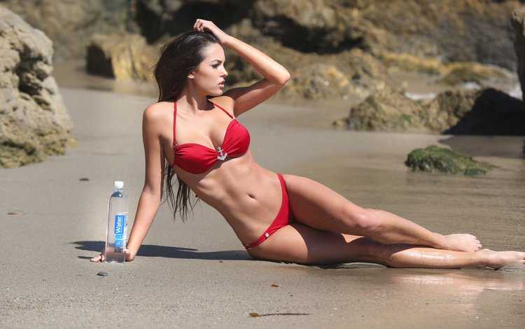 beach, swimsuit
