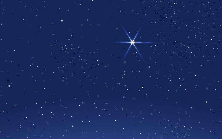 небо, вектор, звезды, графика, the sky, vector, stars, graphics