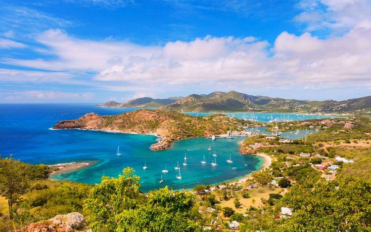 пейзаж, море, яхты, 15, landscape, sea, yachts