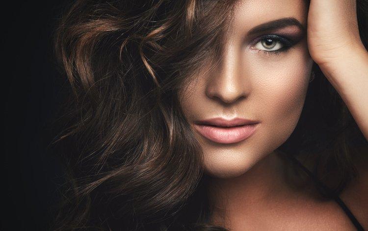 девушка, фото, взгляд, макияж, прическа, модель.локоны, girl, photo, look, makeup, hairstyle, model.curls