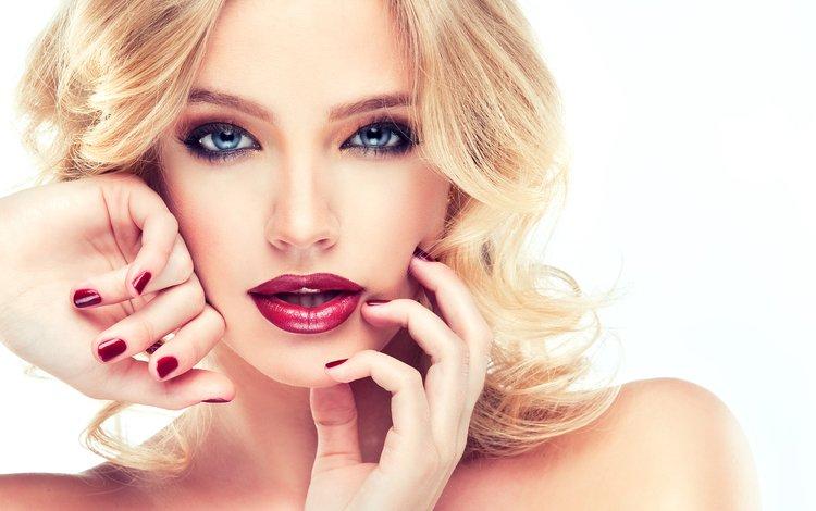 блондинка, жест, взгляд, волосы, лицо, руки, макияж, прическа, 1, фотосессия, photoshoot, blonde, gesture, look, hair, face, hands, makeup, hairstyle
