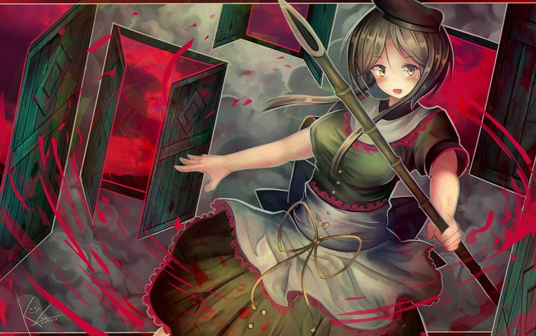 art, girl, anime