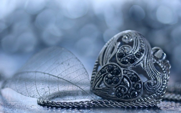 стиль, сердечко, сердце, листик, кулон, украшение, камушки, цепочка, style, heart, leaf, pendant, decoration, stones, chain
