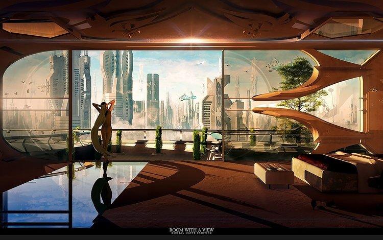 планета, космическая, города, взляд, город, с, дома, широкие, комната, ницца, вс, gевочка, будущего, звезд, неба, aluren, planet, space, city, view, the city, with, home, wide, room, nice, sun, girl, future, stars, sky