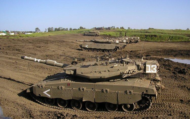 израиль, основной, боевой танк, merkava mk4, israel, main, battle tank