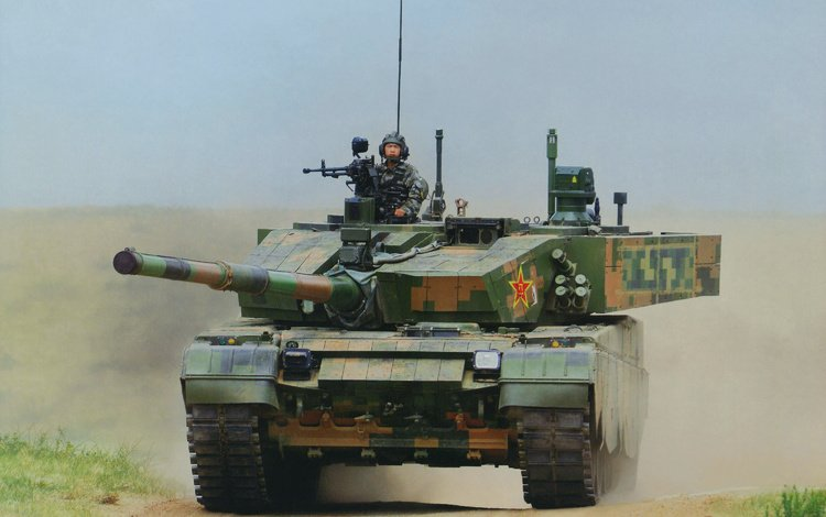 китай, боевой танк, основной тяжёлый, тип 99, china, battle tank, major heavy, the type 99