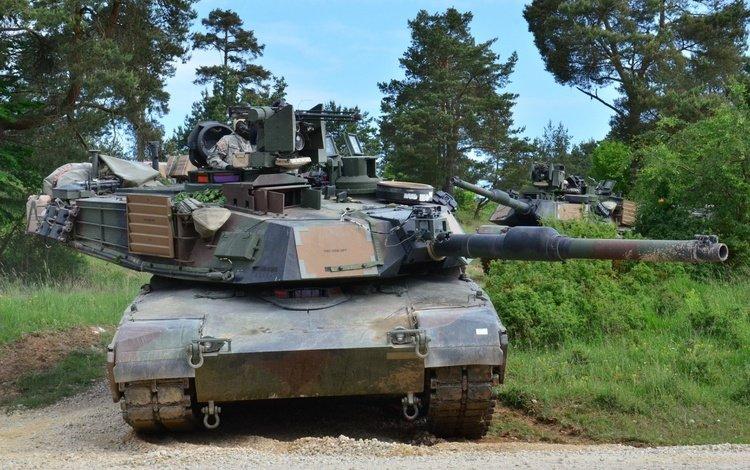 сша, основной, боевой танк, m1a2 abram, usa, main, battle tank