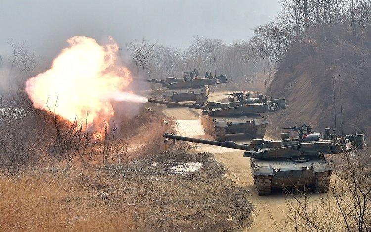 южная корея, основной, боевой танк, k2 black panther, south korea, main, battle tank
