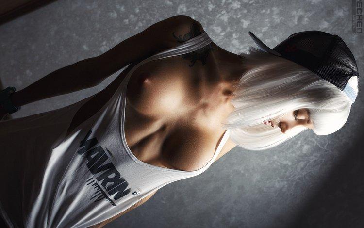 girl, pose, model, room, chest, photographer, wig, sexy, cap, linen, mike, ass, sports, ura pechen