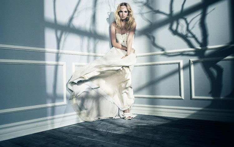 girl, dress, blonde, the vampire diaries, candice accola
