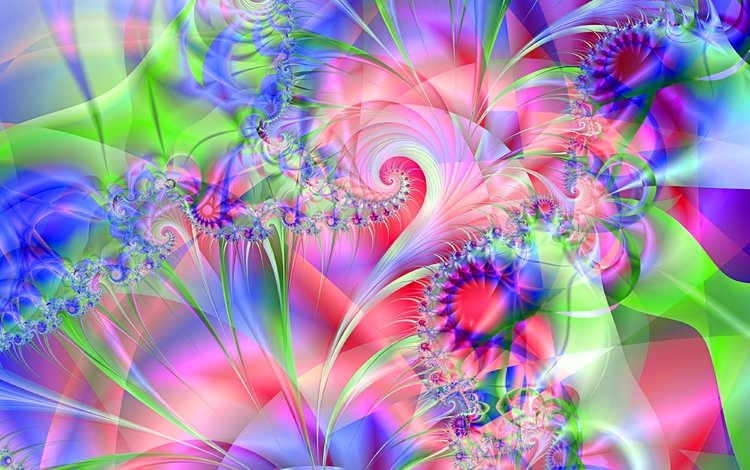 abstraction, background, pattern, color, fractal, terrye