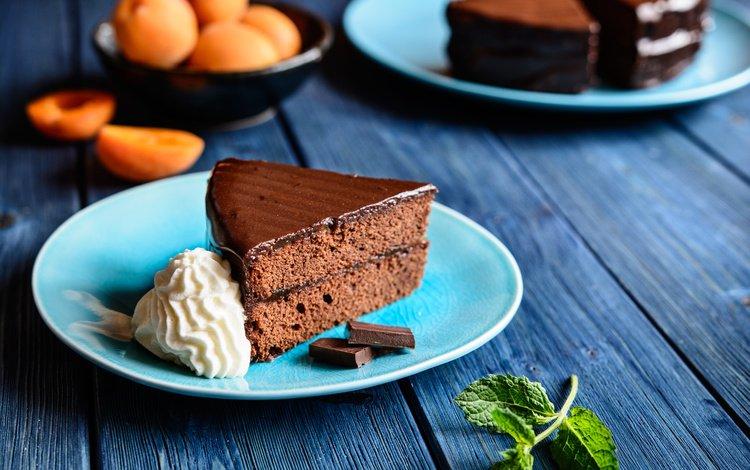 выпечка, в шоколаде, cakes, chocolate