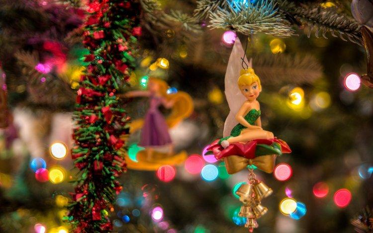 новый год, елка, украшения, игрушки, рождество, куклы, eje gustafsson, new year, tree, decoration, toys, christmas, doll