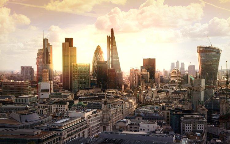 утро, рассвет, лондон, город, англия, morning, dawn, london, the city, england