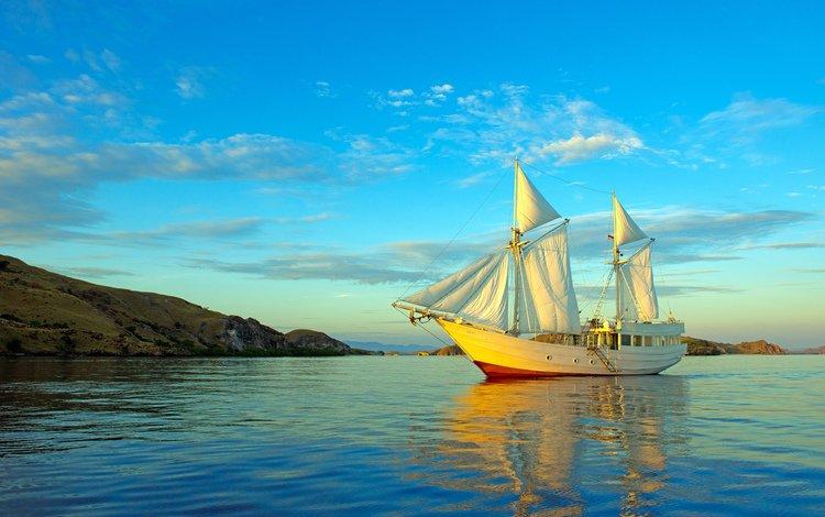 море, яхта, 7, sea, yacht