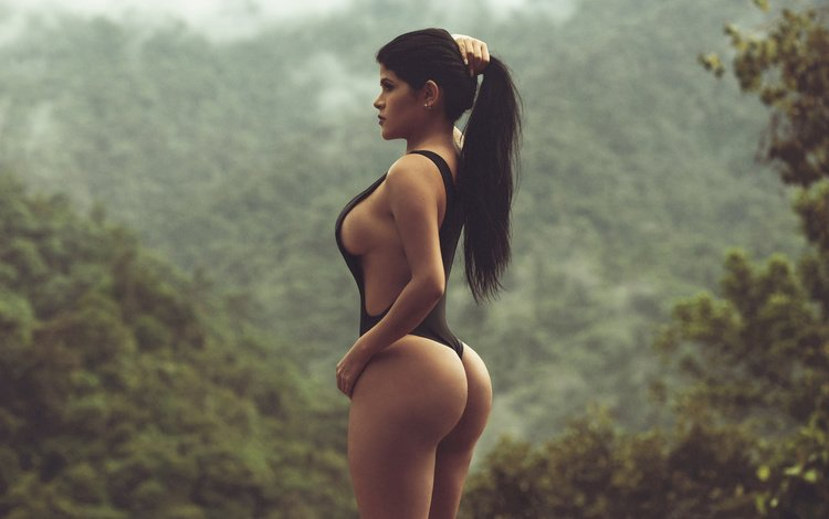 girl, pose, look, model, chest, swimsuit, ass, bust, combipres, paul egas scarino