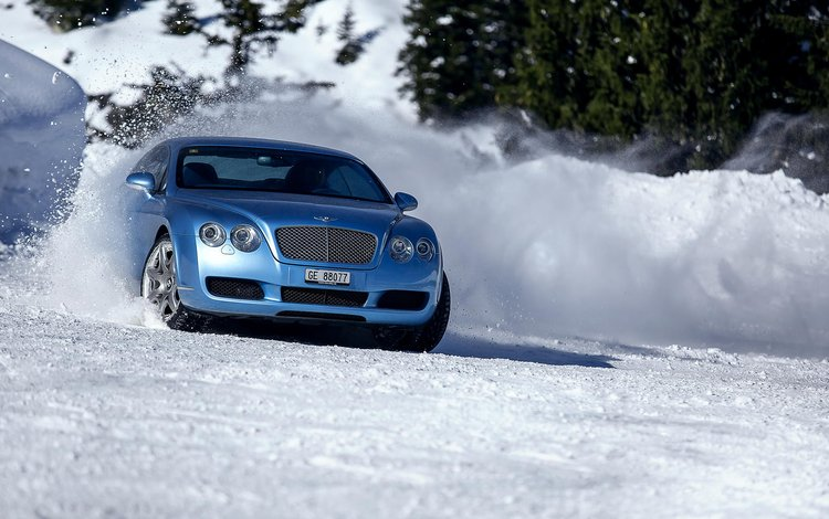 снег, зима, авто, бентли, aleksandr markovsky, snow, winter, auto, bentley