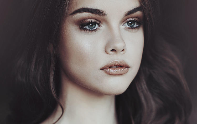 girl, look, model, hair, lips, face, jovana rikalo