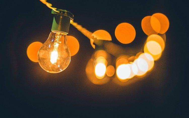light, lamp, glare, light bulb