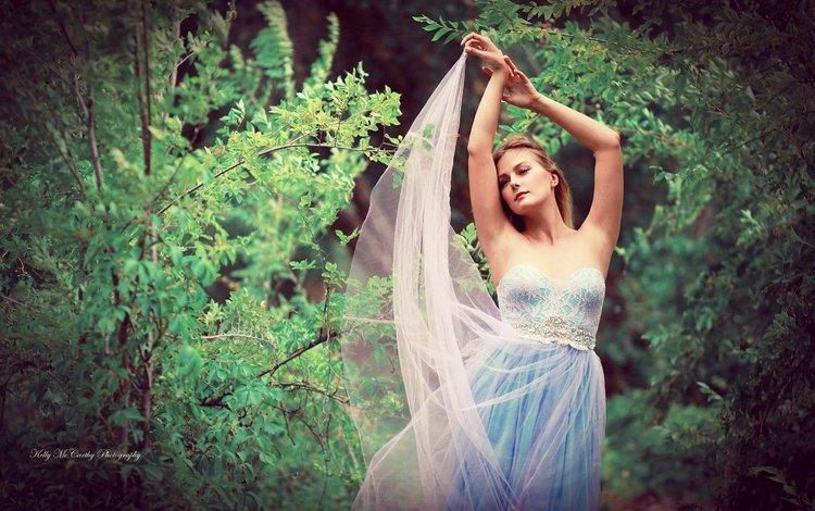 nature, girl, mood, dress, look, hair, face, kelly mccarthy