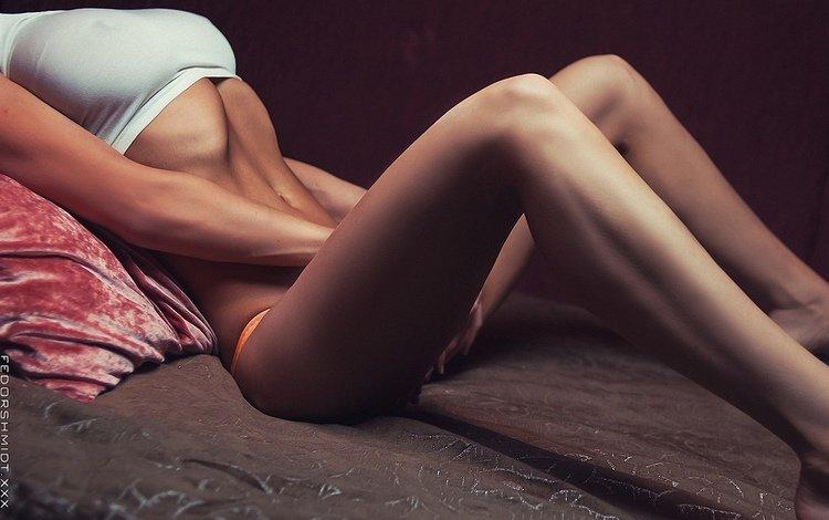 girl, photo, pose, board, sitting, floor