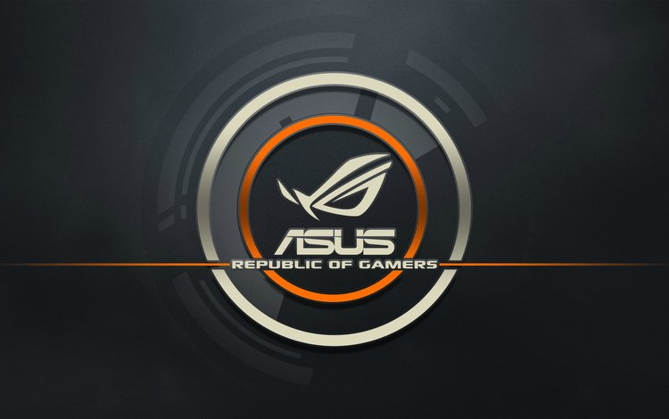лого, компьютер, asus, republic of gamers, logo, computer